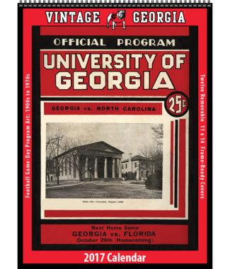 The 2017 Vintage Georgia Bulldogs Football Calendar
