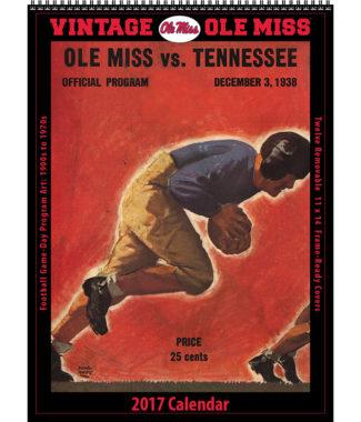 The 2017 Vintage Ole Miss Rebels Football Calendar