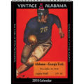 2018 Vintage Alabama Crimson Tide Football Calendar