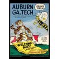 2018 Vintage Auburn Tigers Football Calendar October