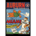 2018 Vintage Auburn Tigers Football Calendar February