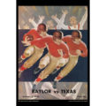 2018 Vintage Baylor Bears Football Calendar October