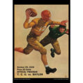 2018 Vintage Baylor Bears Football Calendar April