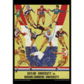 2018 Vintage Baylor Bears Football Calendar June