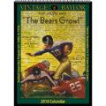 2018 Vintage Baylor Bears Football Calendar