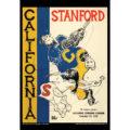 2018 Vintage California Golden Bears Football Calendar March