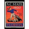 2018 Vintage Florida Gators Football Calendar January