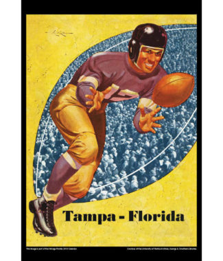 2018 Vintage Florida Gators Football Calendar October
