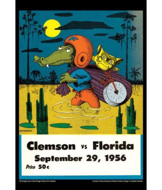 2018 Vintage Florida Gators Football Calendar November