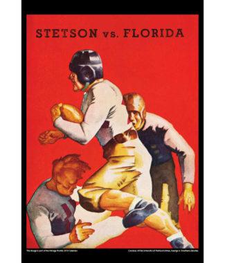 2018 Vintage Florida Gators Football Calendar March