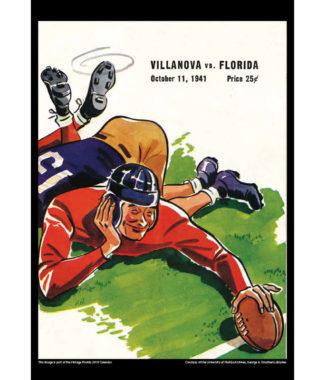 2018 Vintage Florida Gators Football Calendar April