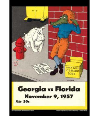 2018 Vintage Florida Gators Football Calendar May