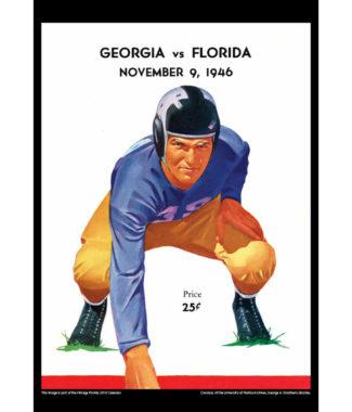 2018 Vintage Florida Gators Football Calendar July