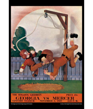 2018 Vintage Georgia Bulldogs Football Calendar November