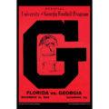 2018 Vintage Georgia Bulldogs Football Calendar February