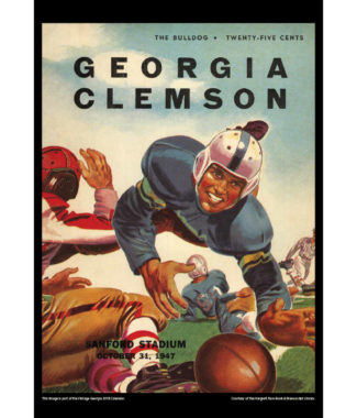 2018 Vintage Georgia Bulldogs Football Calendar April