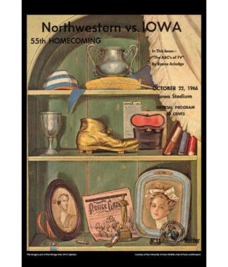 2018 Vintage Iowa Hawkeyes Football Calendar June