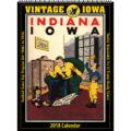 2018 Vintage Iowa Hawkeyes Football Calendar