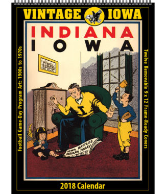 2018 Vintage Iowa Hawkeyes Football Calendar