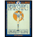2018 Vintage Illinois Fighting Illini Football Calendar