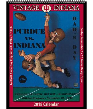 2018 Vintage Indiana Hoosiers Football Calendar