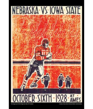 2018 Vintage Iowa State Cyclones Football Calendar November