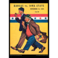 2018 Vintage Iowa State Cyclones Football Calendar July