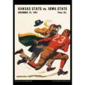 2018 Vintage Iowa State Cyclones Football Calendar August