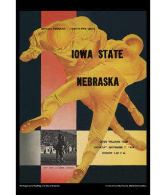 2018 Vintage Iowa State Cyclones Football Calendar September