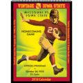 2018 Vintage Iowa State Cyclones Football Calendar