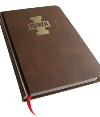 Iowa Hawkeyes Foil Stamped Journal Book