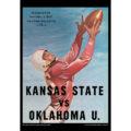 2018 Vintage Kansas State Wildcats Football Calendar October