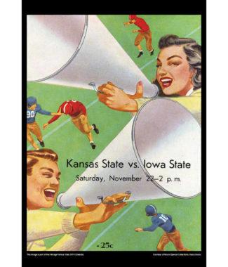 2018 Vintage Kansas State Wildcats Football Calendar May