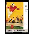 2018 Vintage Kansas State Wildcats Football Calendar June