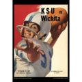 2018 Vintage Kansas State Wildcats Football Calendar August