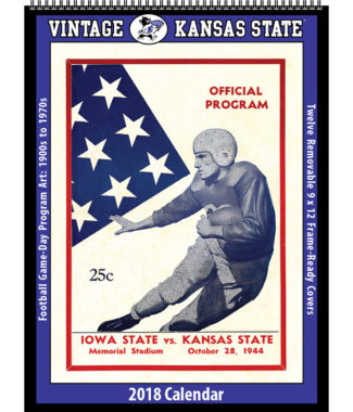 2018 Vintage Kansas State Wildcats Football Calendar