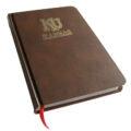 Kansas Jayhawks Foil Stamped Journal Book