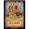 2018 Vintage LSU Tigers Football Calendar