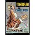 2018 Vintage Missouri Tigers Football Calendar October