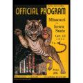 2018 Vintage Missouri Tigers Football Calendar December