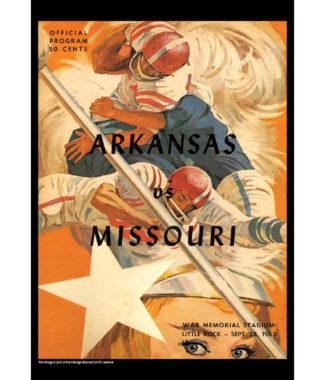 2018 Vintage Missouri Tigers Football Calendar April