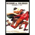 2018 Vintage Missouri Tigers Football Calendar May