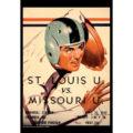 2018 Vintage Missouri Tigers Football Calendar July
