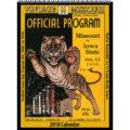 2018 Vintage Missouri Tigers Football Calendar