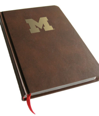 Michigan Wolverines Foil Stamped Journal Book