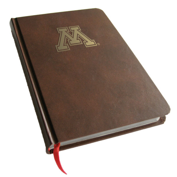 Minnesota Golden Gophers Foil Stamped Journal Book
