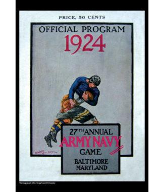 2018 Vintage Navy Midshipmen Football Calendar December