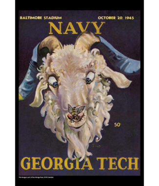2018 Vintage Navy Midshipmen Football Calendar May
