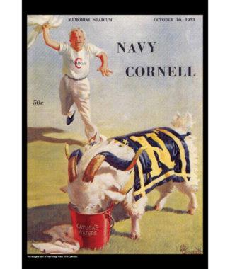 2018 Vintage Navy Midshipmen Football Calendar September