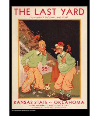 2018 Vintage Oklahoma Sooners Football Calendar June